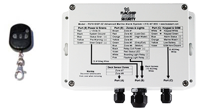 FS701KDSP-2Z Advanced Remote Boat Alarm System